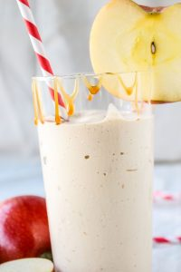 Caramel Apple Cider Reduction Shake from TheFoodCharlatan.com