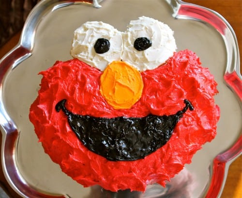 Elmo Cake Tutorial