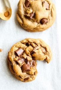 Chocolate Chunk Gingerbread Cookies