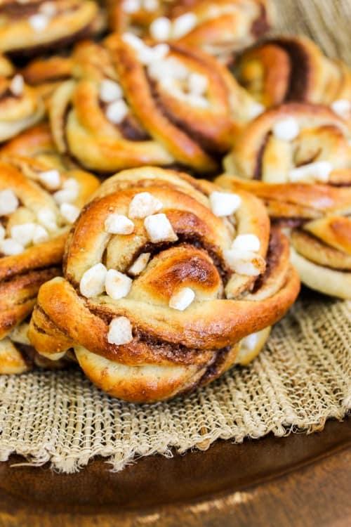 Swedish Cinnamon Buns with Cardamom