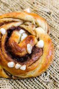 Swedish Cinnamon Buns with Cardamom from The Food Charlatan