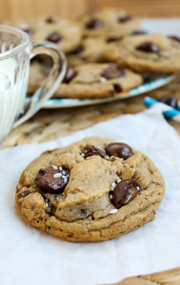 Brown Butter Sea Salt Butterscotch Cookies