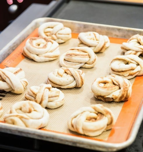 Swedish Cinnamon Buns with Cardamom