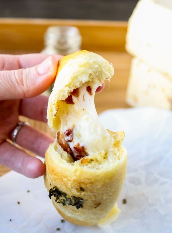Bacon & Pepper-Jack Stuffed Crescent Rolls