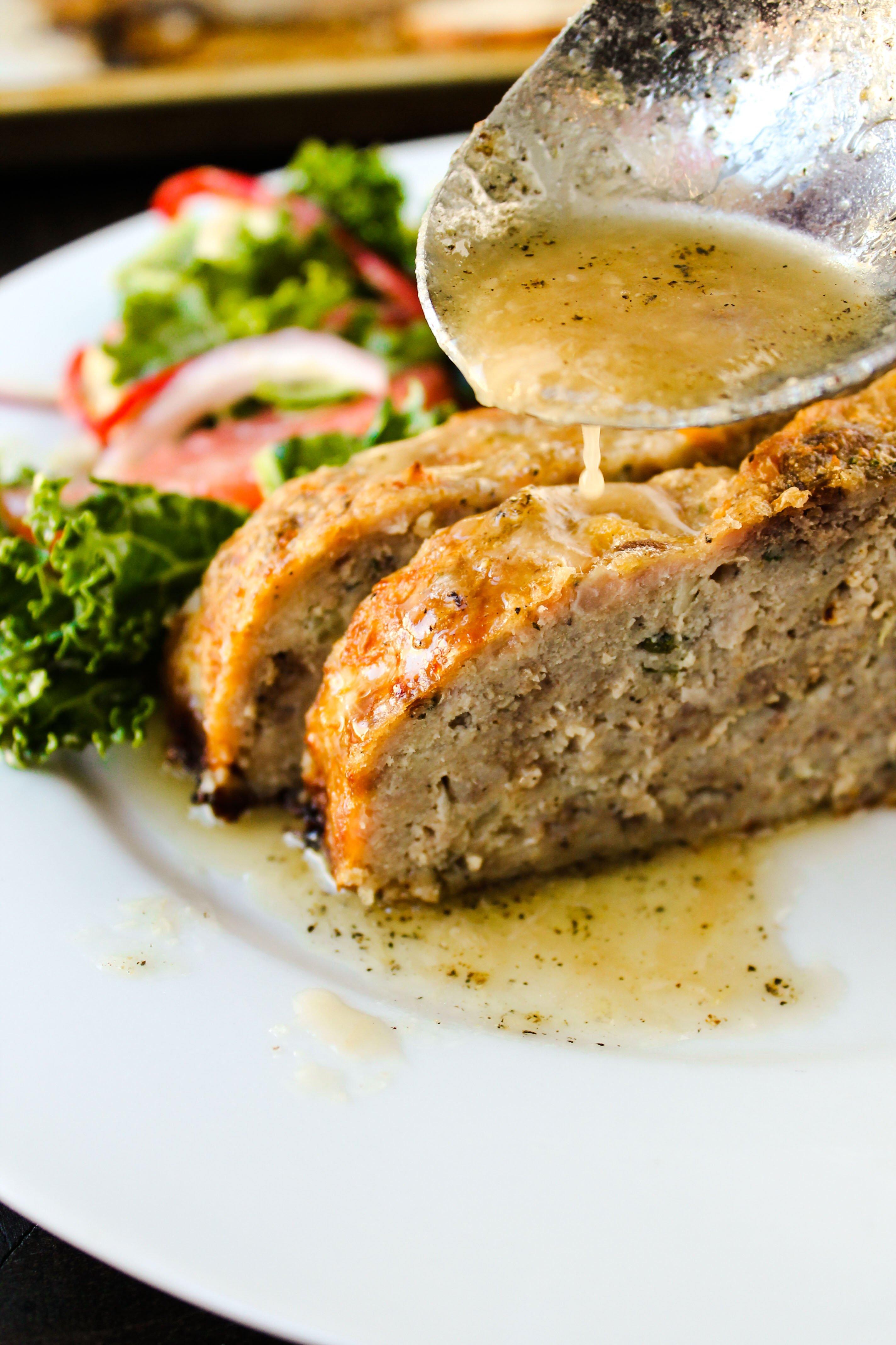 Ina Garten Meatloaf With Garlic Sauce