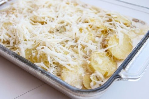 Gruyere-Crisped Potatoes Au Gratin