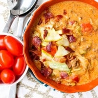 Cheeseburger Soup (Guest Post for Lemon Jelly Cake)