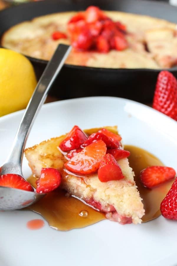 Deep Dish Buttermilk Pancake