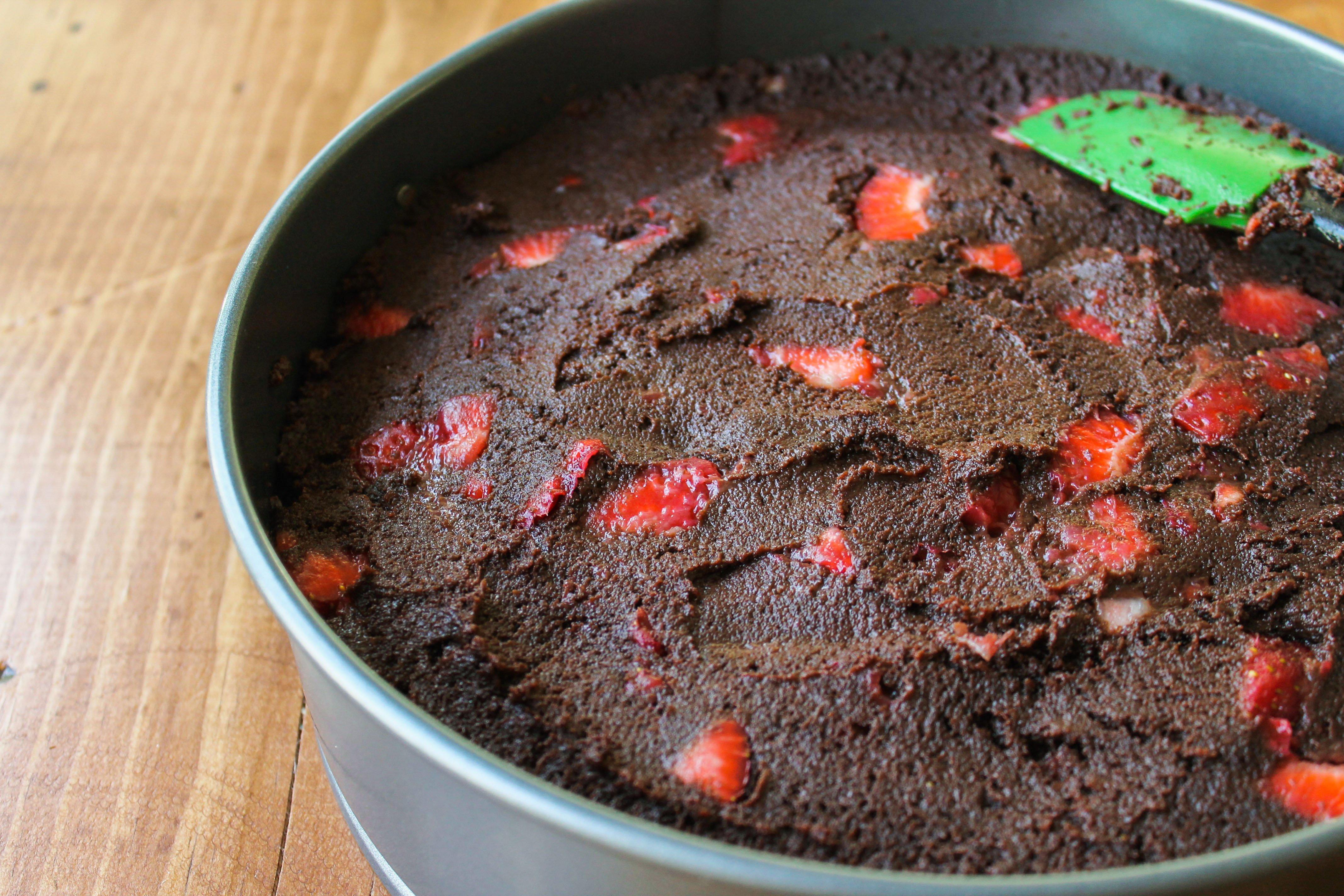 Strawberry Truffle Cake The Food Charlatan