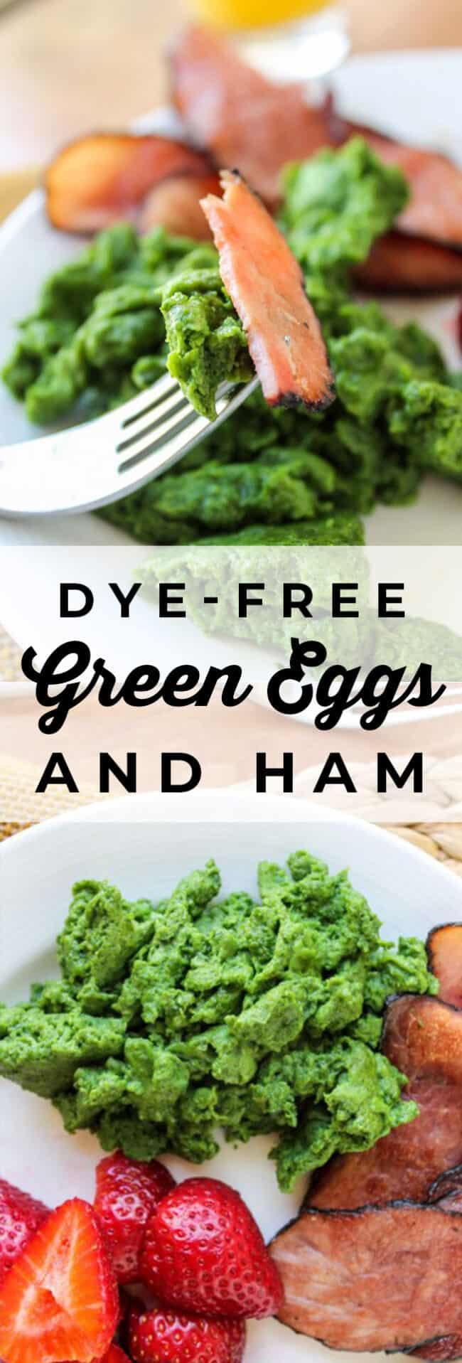 Dye-Free Green Eggs and Ham - The Food Charlatan