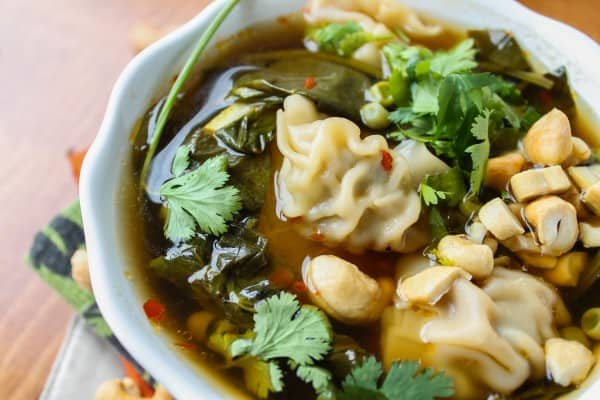 10 Minute Wonton Soup