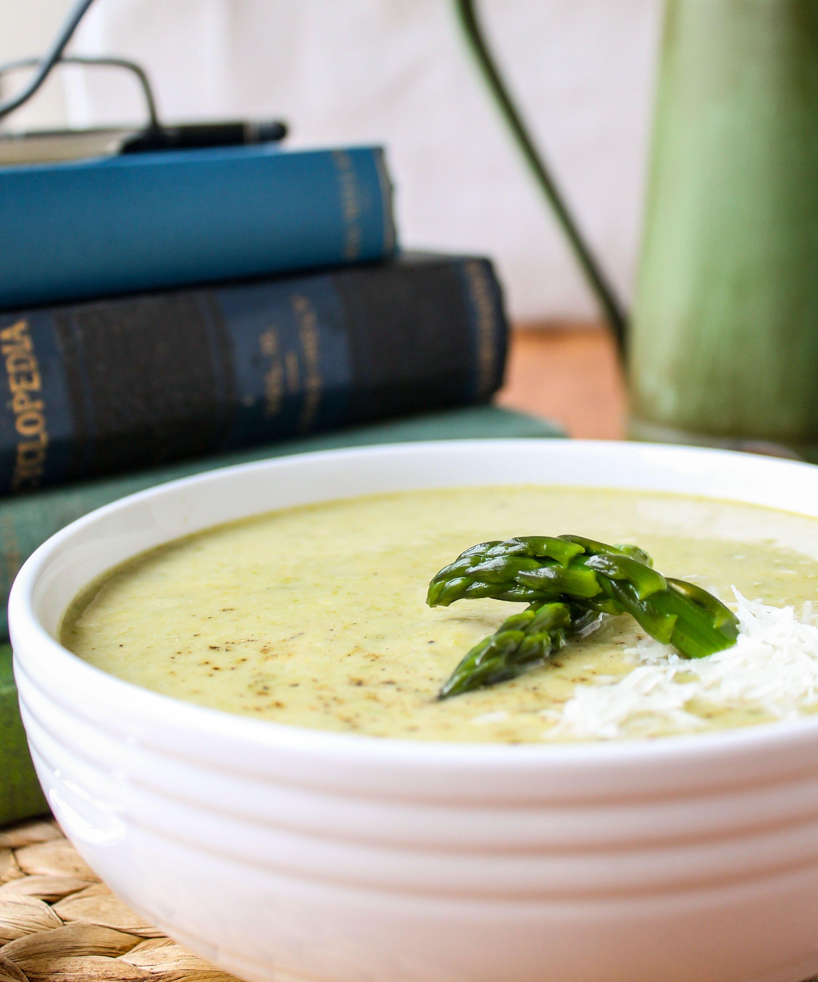 Soup Recipes Asparagus: Simple Asparagus Soup