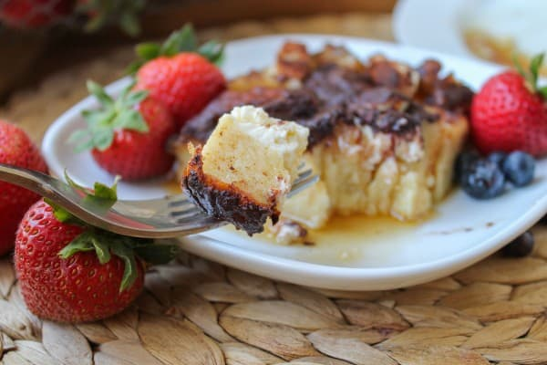 Overnight Cream Cheese French Toast Casserole