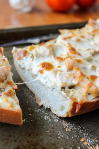 French Bread Pizza, 3 Ways from TheFoodCharlatan.com