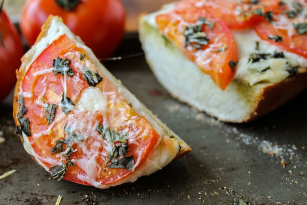 French Bread Pizza, 3 Ways