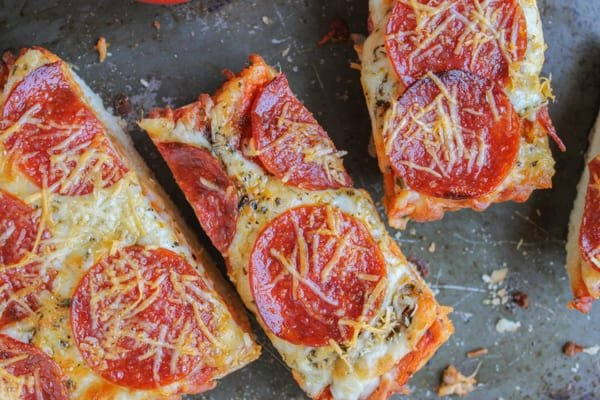 French Bread Pizza, 3 Ways
