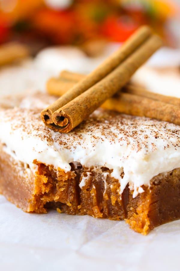 Butterscotch Pumpkin Cake | TheFoodCharlatan.com