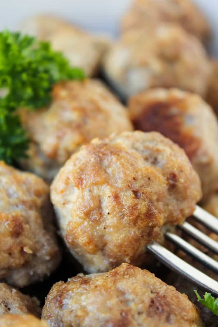 Baked Meatball Recipe