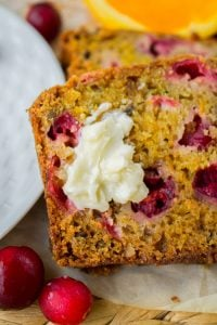 Cranberry Orange Walnut Bread from The Food Charlatan