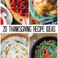 Thanksgiving Menu Recipe Round Up