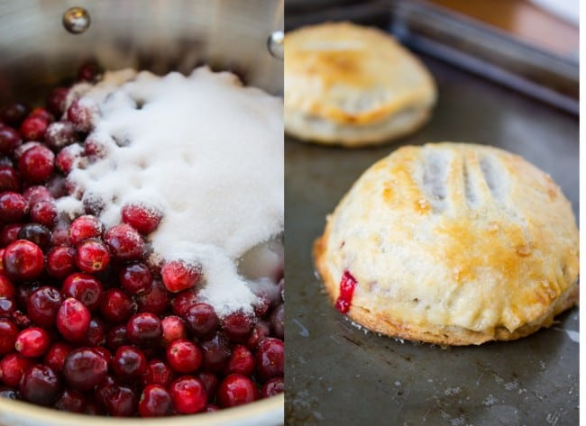 Cranberry Dulce de Leche Hand Pies from The Food Charlatan