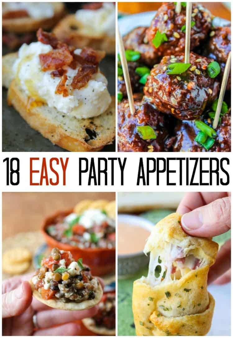 Easy Appetizer Ideas for New Years Eve from The Food Charlatan