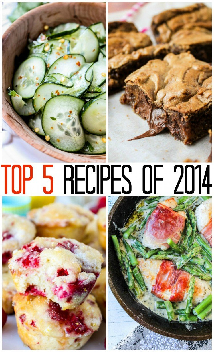 Top 5 Recipes of 2014 from The Food Charlatan