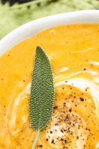 Roasted Butternut Squash Soup from The Food Charlatan