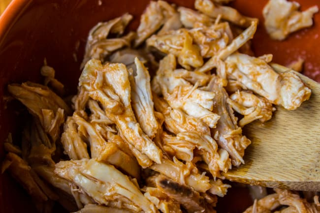 Cheesy Buffalo Chicken Dip from The Food Charlatan