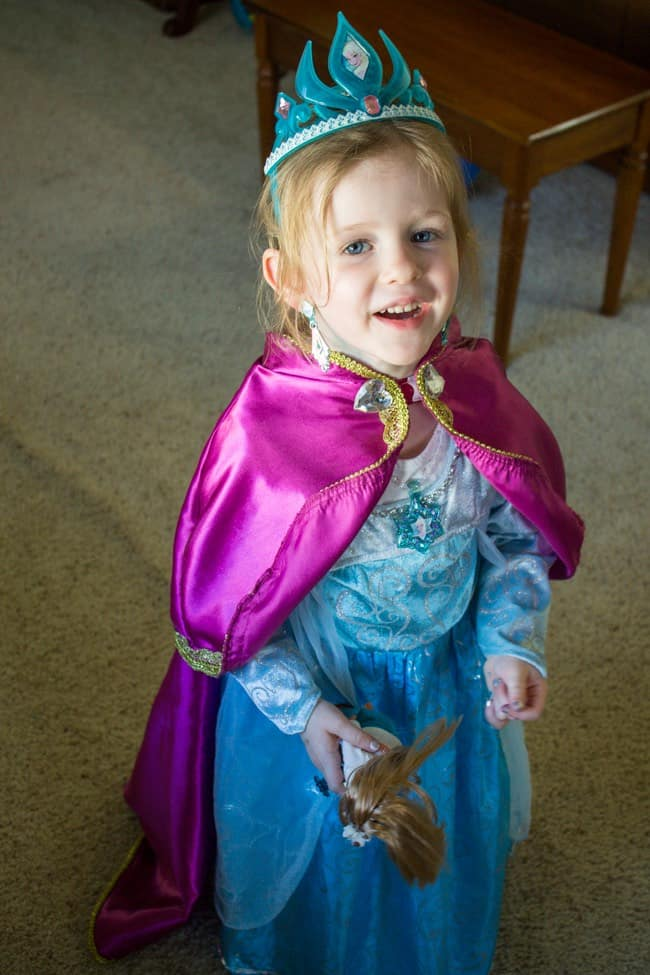 Elsa's Frozen Birthday Party