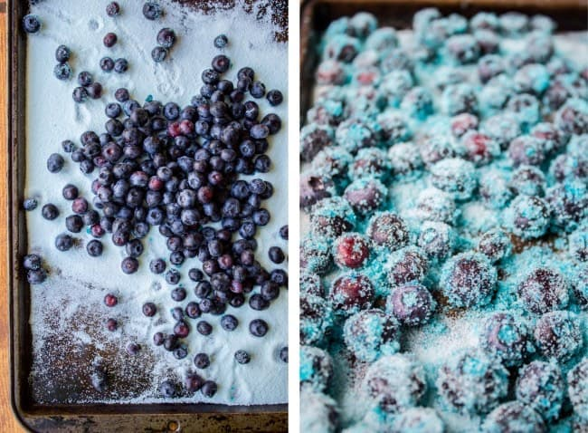 How to make Frozen Blueberries as Candy