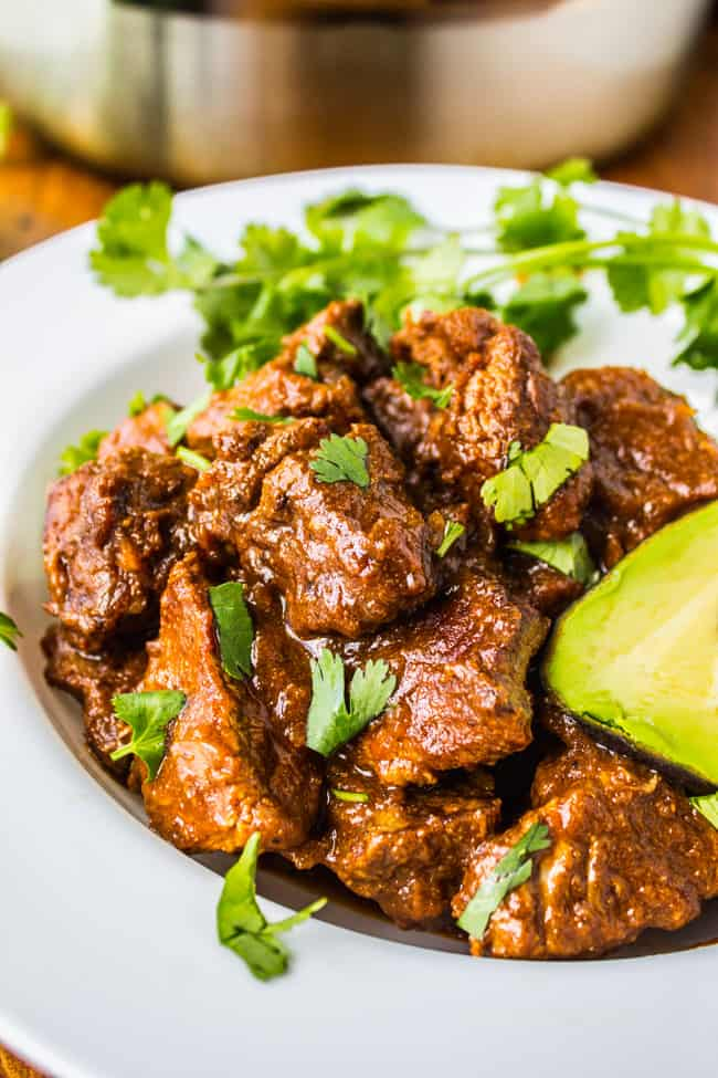 Traditional Tejano Carne Guisada from The Food Charlatan