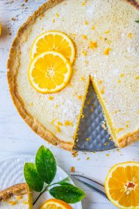 Meyer Lemon Tart from The Food Charlatan