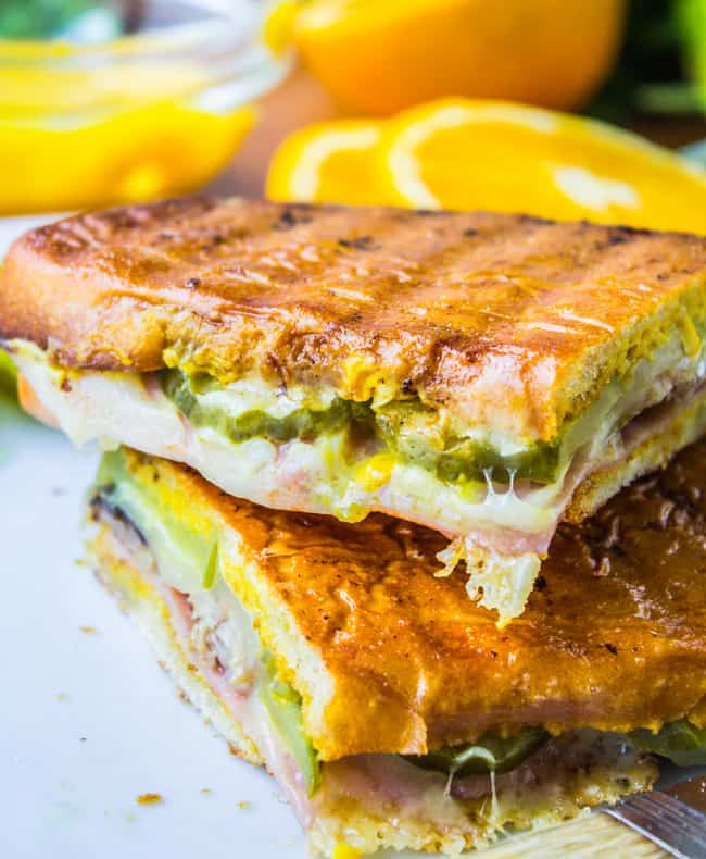 Cuban Sandwiches from The Food Charlatan