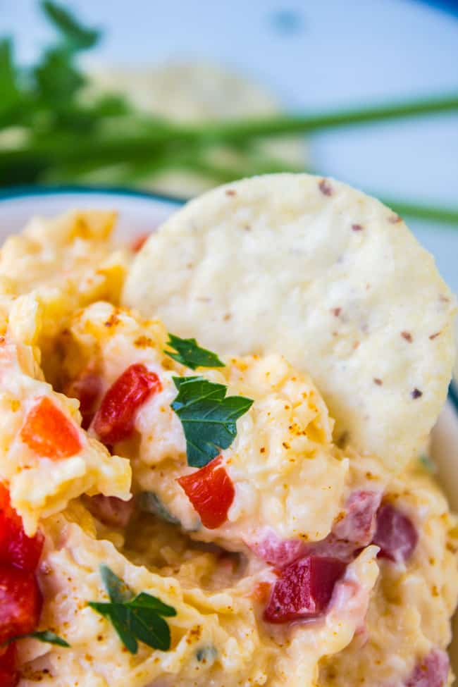Pimiento Cheese Dip from The Food Charlatan
