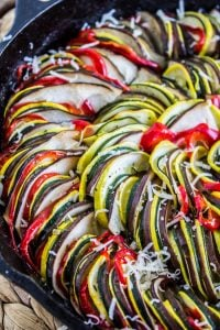 Roasted Garlic Ratatouille from The Food Charlatan