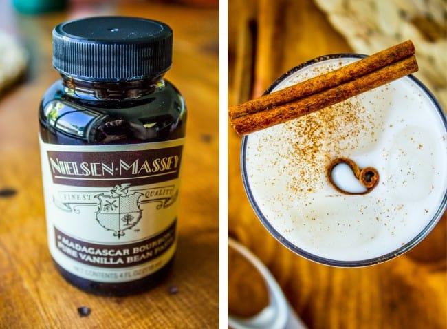 Vanilla Bean Horchata from The Food Charlatan