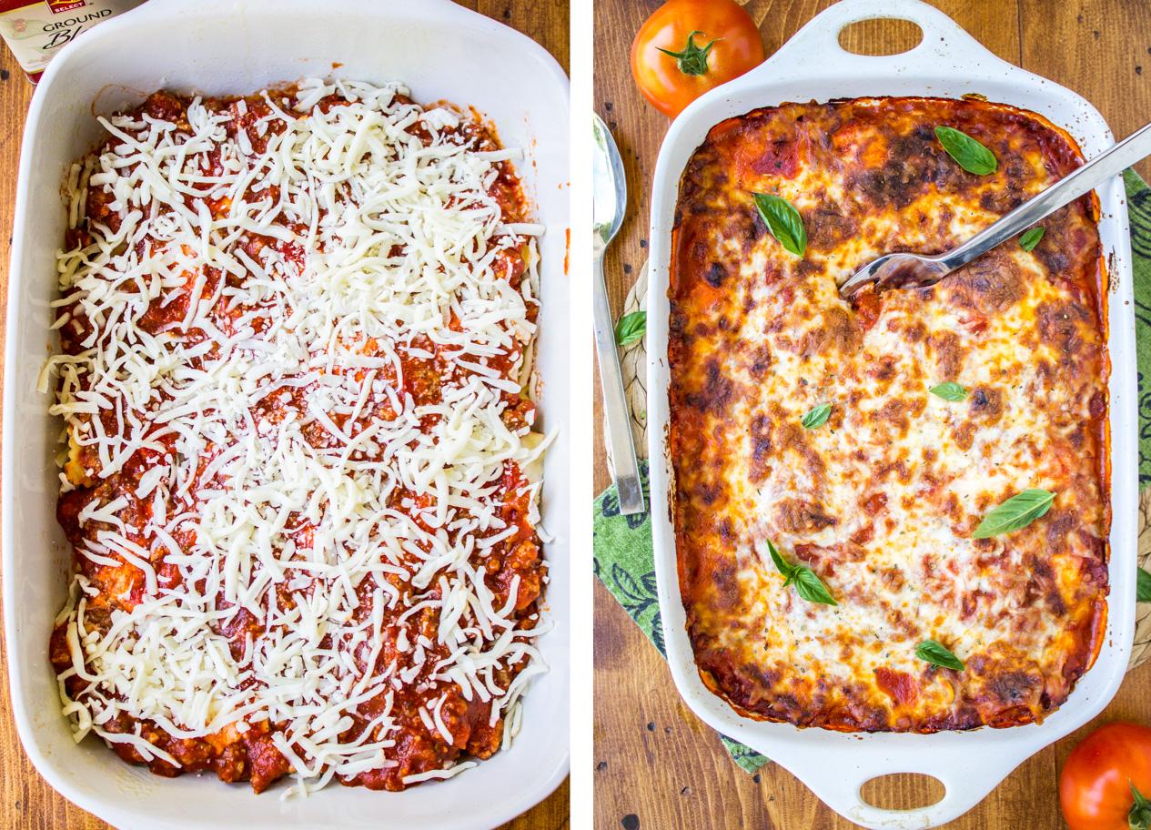 Easy cheesy ravioli lasagna the food charlatan easy ravioli lasagna from the food charlatan forumfinder Images