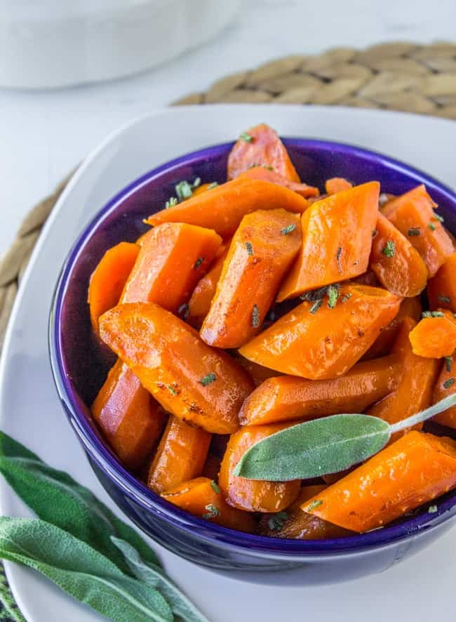 Crock Pot Carrots
