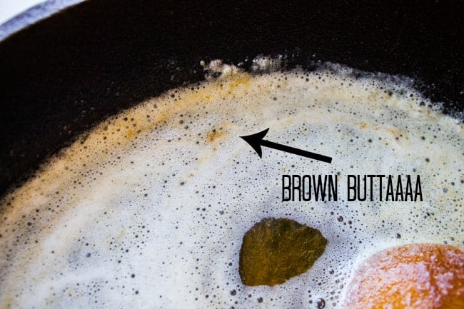 Brown Butter for Glazed Carrots Recipe