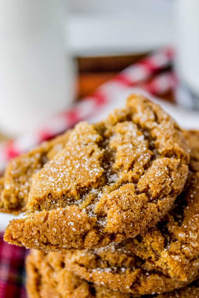 Gramma Prudy's Classic Gingersnaps by The Food Charlatan