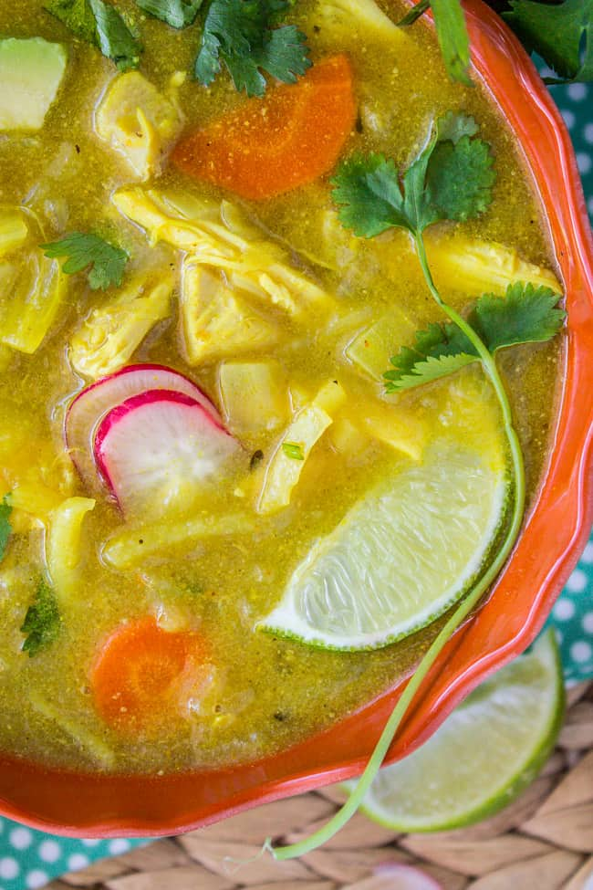 Creamy Mulligatawny Soup from The Food Charlatan