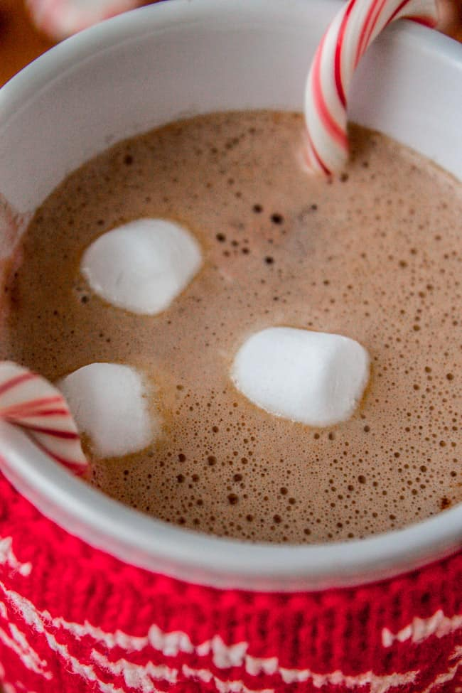 Easy Honey Hot Chocolate for One from The Food Charlatan