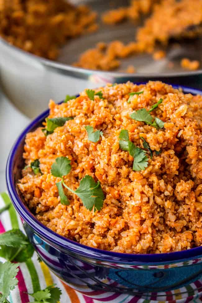 Spanish cauliflower rice to eat with mexican food the food charlatan spanish cauliflower rice to eat with mexican food from the food charlatan forumfinder Choice Image