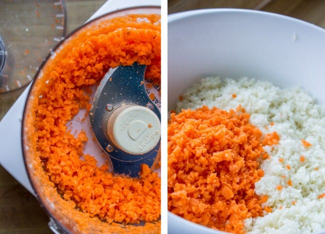 Spanish Cauliflower Rice (to eat with Mexican Food) from The Food Charlatan