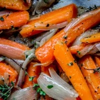 Sautéed Carrots and Shallots with Thyme