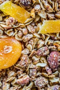 Tropical Coconut Mango Granola from The Food Charlatan