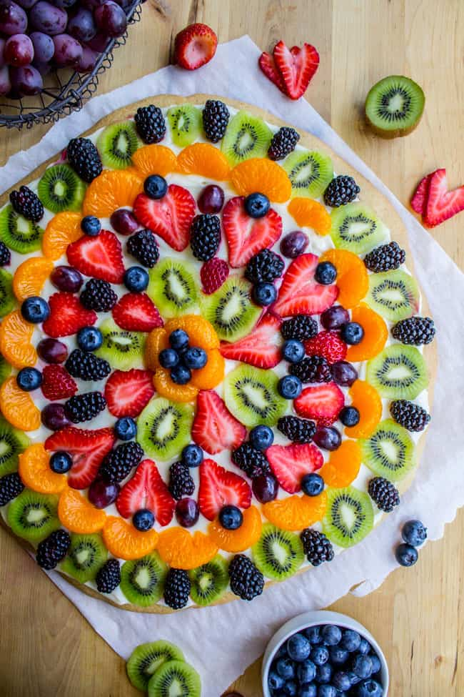 Chicago Style Fruit Pizza from The Food Charlatan