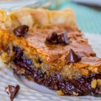 THE Chocolate Chip Pie