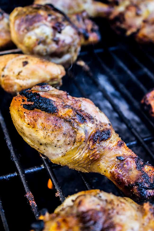 Lemon Tarragon Grilled Chicken from The Food Charlatan